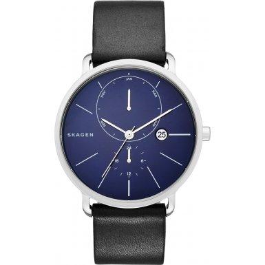 skagen-reloj-de-hombre-de-cuarzo-con-esfera-analogica-azul-pantalla-y-negro-pulsera-de-piel-skw6241