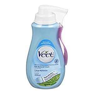 Veet Gel Hair Remover Cream, Sensitive Formula, 13.50 Ounce (Packaging may vary)