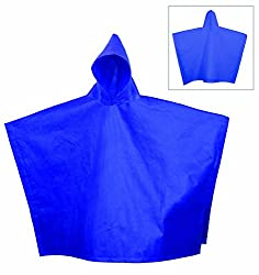 Bags for LessTM Non Woven Poncho Royal Blue