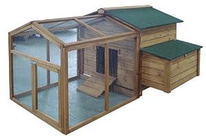 poulailler clapier bois 4 animaux cage a lapins ou poules. Black Bedroom Furniture Sets. Home Design Ideas