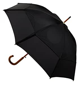 GustBuster Classic 48-Inch Automatic Golf Umbrella (Black)