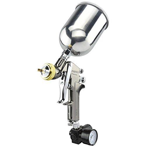 Neiko 31215A HVLP Gravity Feed Air Spray Gun   1.7mm Nozzle Size   600cc Aluminum Cup (Automotive Spray Gun compare prices)