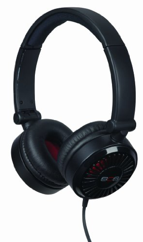 808 Drift Noise-Isolating On-Ear Headphones - Black