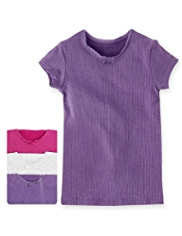 3 Pack Soft & Cosy Thermal Ribbed Vests