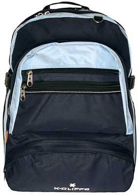 15.4 inch K-Cliffs Mutilple Compartment Organizer Laptop Computer Notebook Backpack School Bag