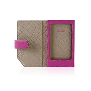 Belkin Leather Folio Case for iPod touch 2G, 3G (Pink)