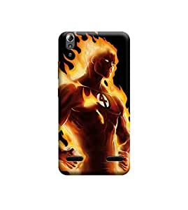 EPICCASE Premium Printed Mobile Back Case Cover With Full protection For Lenovo A6000 (Designer Case)