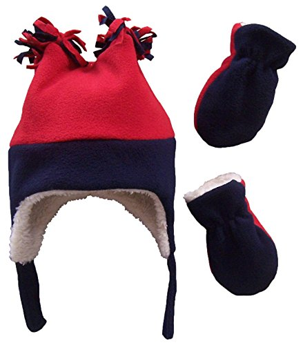 nice-caps-boys-sherpa-lined-fleece-hat-and-mitten-12-18mo-navy-red-infant