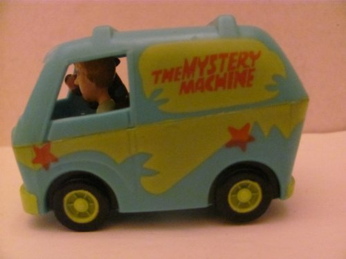 THE MYSTERY MACHINE VAN - (Scooby-Doo / Hanna-Barbera) - BURGER KING Kids Meal TOY - 1996 / China (NOT in Original Bag) - 1
