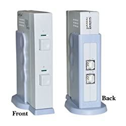 2 PC to 1 USB 2.0 Device AB Switch Box (Printer, Scanner)