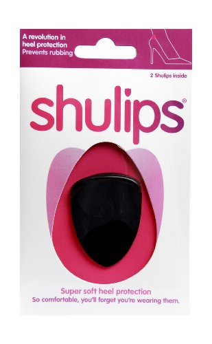 Shulips Super Soft Heel Protection Black
