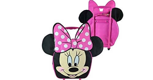 Disney 14 Face Shaped Rolling Pilot Case, Minnie Mouse ...