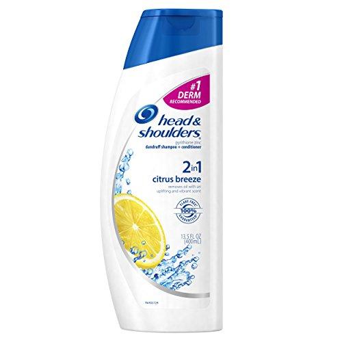 Head & Shoulders Citrus Breeze 2-In-1 Dandruff Shampoo And Conditioner 13.5 Fl Oz (Pack of 2)
