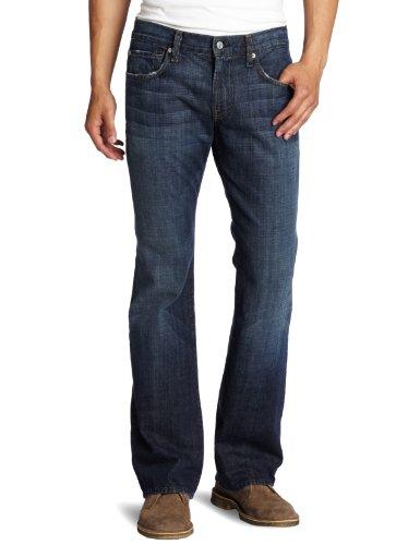 7 For All Mankind - Mens Brett Bootcut Jeans In New York Dark, Size: 29, Color: New York Dark