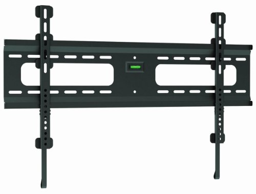 "Ultra-Slim Black Flat/Fixed Wall Mount Bracket For Insignia Ns-37L550A11 37"" Inch Lcd Hdtv Tv/Television - Low Profile"