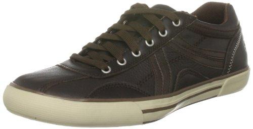Skechers Men's Planfix Zeta Sneaker Brown, 39.5 EU