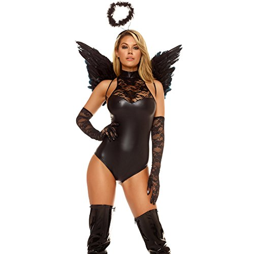 [Forplay Women's Mischief, Black, Medium/Large] (Forplay Costumes 2016)