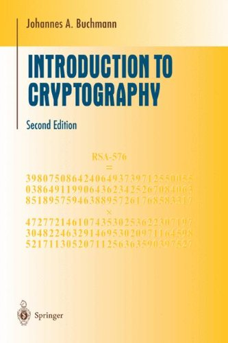 Introduction to Cryptography (Undergraduate Texts in...