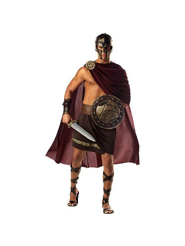Spartan King and Queen Couples Costumes Bundle With Accessories ( SIZE M/M )