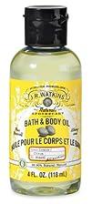 J.R. Watkins Bath and Body Oil Lemon 4 Fluid Ounce 6 count