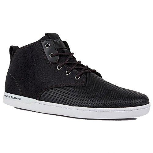 Creative Recreation Men's Vito Fashion Sneaker, Raven, 10 M US