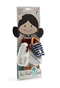 NICI Set for Minilotta Plush Doll with Jumpsuit and Small Plush Bag