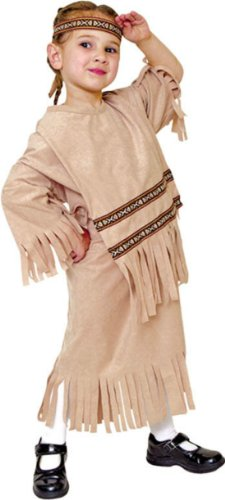 Indian Girl Lg Kids Girls Costume