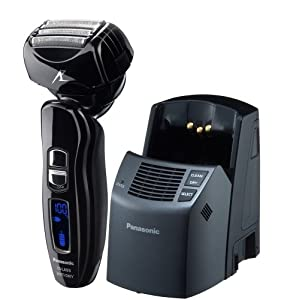 Panasonic ES-LA93-K Arc4 Electric Shaver Wet/Dry with Multi-Flex Pivoting Head and Automatic Cleaning System for Men