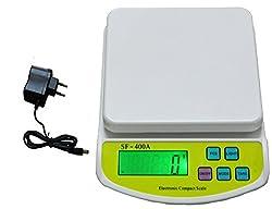 Virgo Digital Kitchen Multi-Purpose Weighing Scale (White)