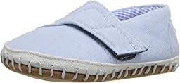 TOMS Kids Unisex Crib Alparagata (Infant/Toddler) Light Blue Chambray Loafer 2 Infant M