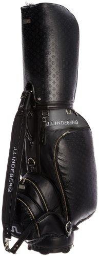 [ジェイリンドバーグ] J.LINDEBERG キャディバッグ JL-003 黒 (黒)