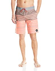 Quiksilver Men's Swell Vision 20 Inch Boardshort, Swell Vision American Beauty, 34