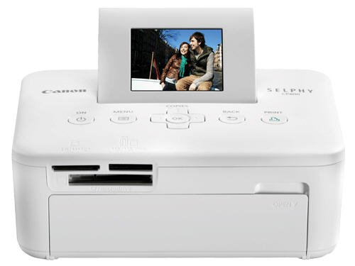 41HPx536VVL. SL500  Canon SELPHY CP800 White Compact Photo Printer (4595B001)