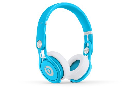 Beats Mixr On-Ear Headphone (Neon Blue)