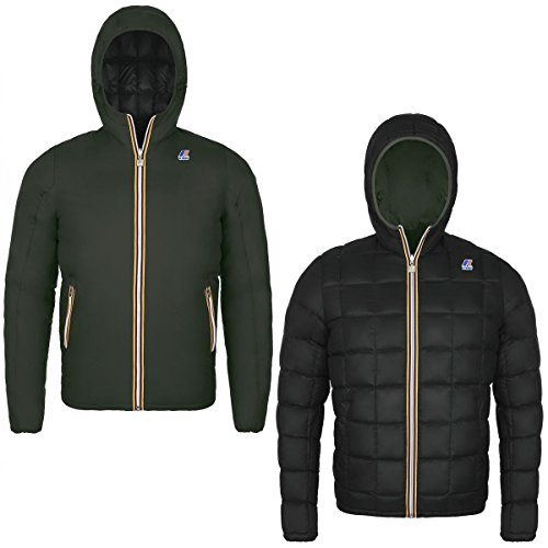 K-WAY JACQUES THERMO PLUS DOUBLE AIR VERDE M