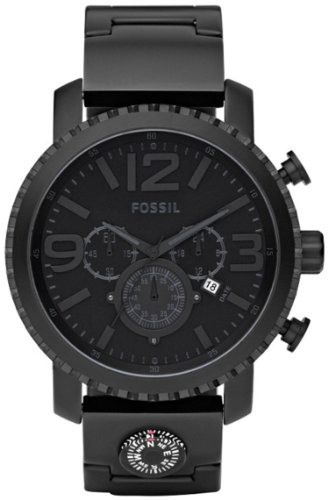 Fossil JR1303 Gage Plated Stainless Steel Watch - Black