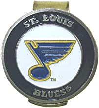 St Louis Blues Golfers Hat Clip amp Double Sided Golf Ball Marker