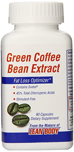Labrada Nutrition Green Coffee Bean Extract Capsules 400, 90 Count