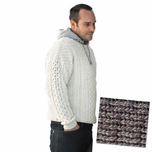 Traditional Irish Derby Aran Sweater - Delivery from Ireland within 6-9 Days
