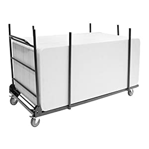 Cart for Rectangular Blow Mold Table Dolly