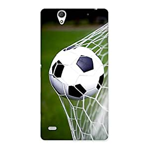 Special Goal Green Back Case Cover for Sony Xperia C4