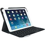 Logitech UltraThin Bluetooth Keyboard Folio Carbon Black - For iPad Air 1st Generation