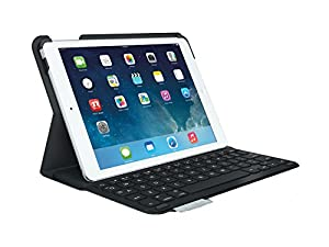 Logitech UltraThin Keyboard Folio for iPad  Carbon Black - UK layout