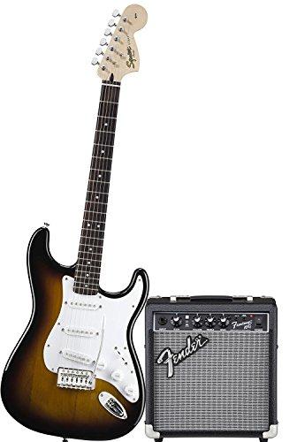 Guitares Électriques FENDER Squier Stratocaster Bullet Couleur Bsb Ampli FENDER FRONTMAN 10...