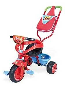 Smoby - 444166 - Vélo et Véhicule pour Enfants - Porteur et Tricycle - Be Fun Confort - Cars 2