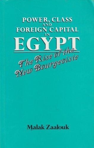 Power, Class and Foreign Capital in Egypt: The Rise of the New Bourgeoisie