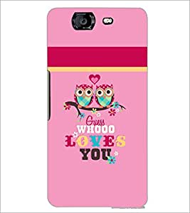 PrintDhaba Quote D-3517 Back Case Cover for MICROMAX A350 CANVAS KNIGHT (Multi-Coloured)