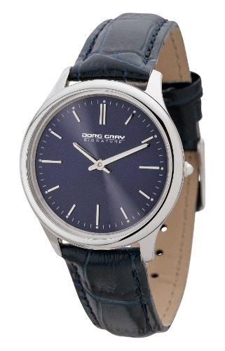 Jorg Gray Signature  JGS2551 - Reloj de cuarzo para mujer, con correa de cuero, color azul