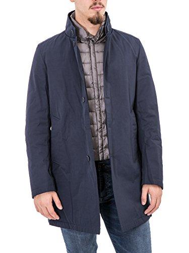 BOSIDENG - Giubbotto trench uomo con imbottitura f06itm16 l blu