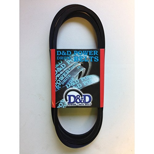D&D PowerDrive SPZ1120 V Belt, 10 mm x 1120 mm, SPZ, Rubber